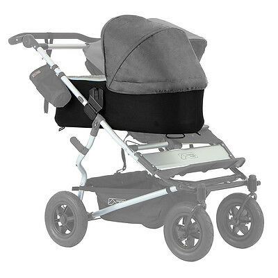 Mountain Buggy Duet Carrycot Plus (in Flint Grey)