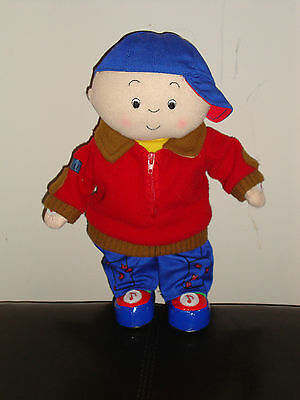 HTF - Caillou Laugh and Learn Talking Doll - Speaks English/French 2005 VGC