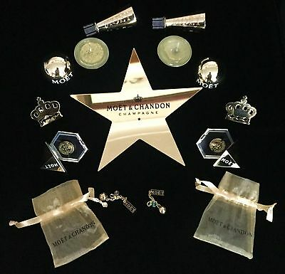 Moet Chandon Champagne Golden Christmas Goody Box All New And Unused