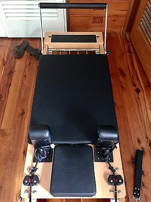 PRO PILATES REFORMER foldable, barely used! Excellent quality and condition!