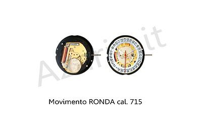 Movimento al quarzo Ronda 715 movement quartz for watch orologi Swiss