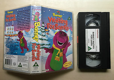 Barney - Waiting For Santa - Vhs Video