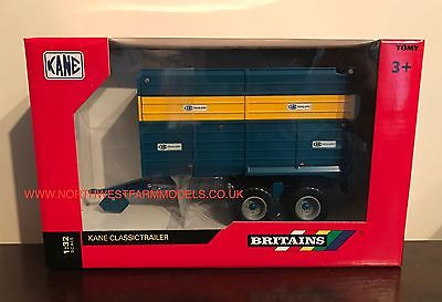Britains Farm Kane Twin Axle Classic Silage Trailer 1/32 Scale Brand New 43153A1