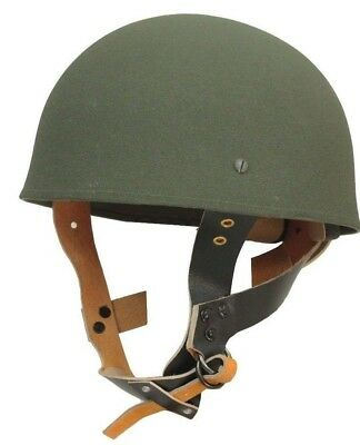 WW2 British PARATROOPER HELMET- Green - With Liner - ARMY - Replica - FORCES