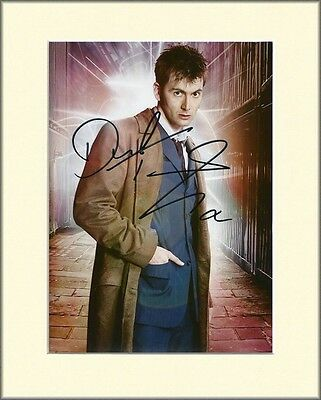 David Tennant No.3 Doctor Who Pp Mounted 8X10 Signed Autograph Photo