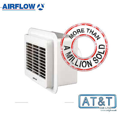 Airflow Loovent TM 01 Bathroom Toilet Utility Extractor Fan with Timer 71766401