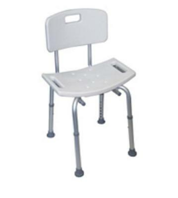 Shower Stool with Back *Reduced - on Sale*