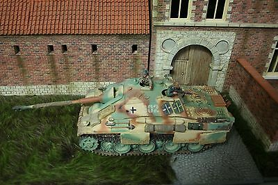 King & Country German Ww2 Jagd Panther V Wss59 Retired Rare