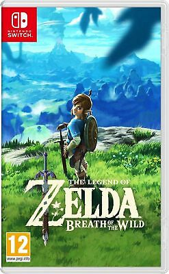 The legend of Zelda: Breath Of The Wild (Nintendo Switch) NEW & SEALED