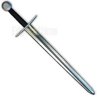100cm POLYPROPYLENE RUBBER LATEX ENGLISH MEDIEVAL SWORD ROLE PLAY LARP COSPLAY