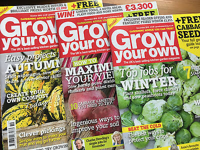 Grow Your Own Garden Magazine - October, November & December 2015
