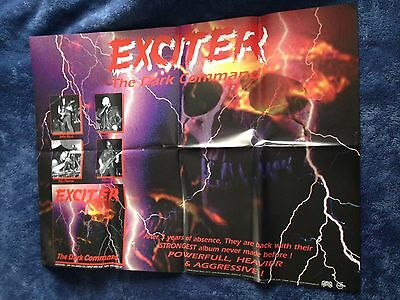 EXCITER - The Dark Command POSTER (60cm x 79cm)
