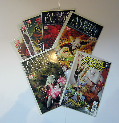 Alpha Flight(2011) 0 1 2 3 4 5 6 7 8 Complete Marvel Fear Itself Wolverine