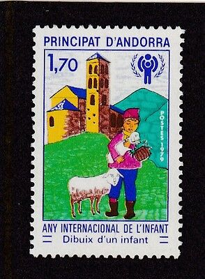 Andorra French #272 Mnh International Year Of The Child