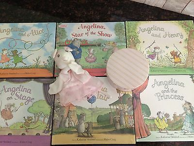 American Girl Angelina Ballerina Accessories in Hat Box NIB Retired Collectible