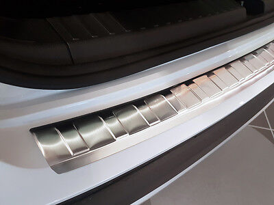 Seat Ateca Rear Bumper Protector Guard Trim Cover Chrome Stainless Steel Inox