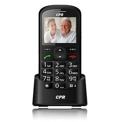 UK SIM Unlocked Big Button Senior Mobile Phone Easy to Use SOS - CPR CS600