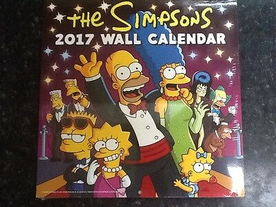 The Simpsons Official 2017 Calendar - Square 305x305mm Wall Calendar 2017