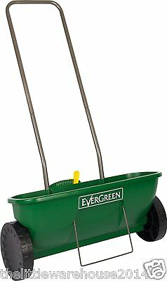 EverGreen Easy Spreader Plus Outdoor Fertilizer Spreader Garden Lawn Seed New