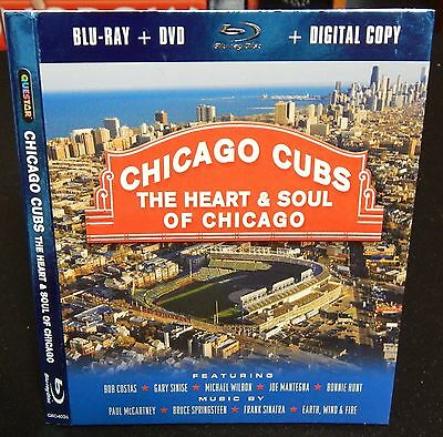 Chicago Cubs Blu-Ray Slipcover Sleeve (US) NO MOVIE SLIPCOVER ONLY