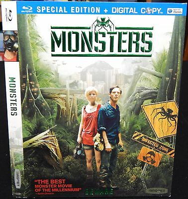 Monsters (Special Edition) Blu-Ray Slipcover Sleeve (US) NO MOVIE SLIPCOVER ONLY