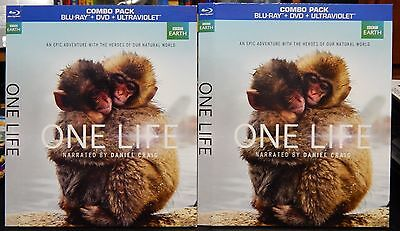 One Life (BBC Earth) Blu-Ray Slipcover Sleeve (US) NO MOVIE SLIPCOVER ONLY