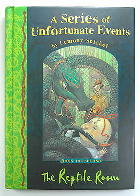The Reptile Room (A Series of Unfortunate Events No. 2), Lemony Snicket, Inglés