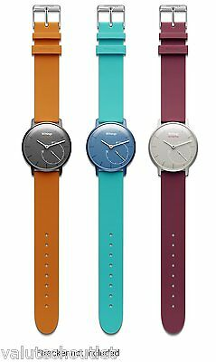 Withings Activite Pop Wristband Accessory Pack - Orange/Plum/Teal
