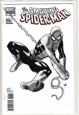 Amazing Spider-Man 669 1:50 Black & White Variant (Stuart Immonen)