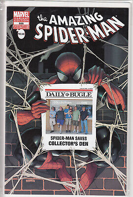 Amazing Spider-Man 666 Collectors Den Daily Bugel Variant