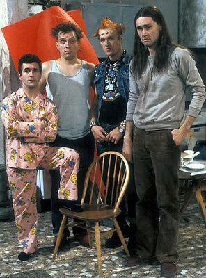 Christopher Ryan, Rik Mayall & Adrian Edmondson photo - H4373 - The Young Ones