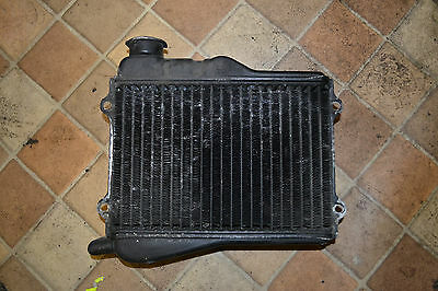 yamaha rd350lc 4l0  radiator in need of repaint solid condition will fit rd250lc