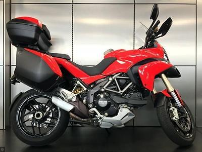 Ducati Multistrada 1200 ABS, red, 14, full luggage + FDSH