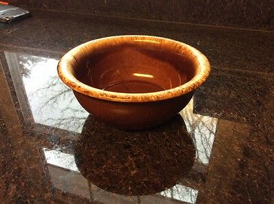 Pfaltzgraff Pottery BROWN DRIP Cereal Bowl Made in USA