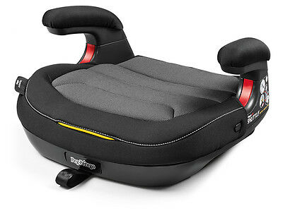 Peg Perego Viaggio Shuttle 120 Backless Booster Car Seat in Crystal Black New!!