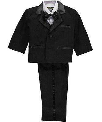 "Angels New York Baby Boys' ""Satin Sophistication"" 5-Piece Tuxedo"