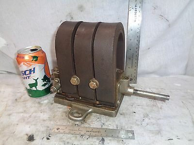Nickle plated brass friction drive magneto hit miss engine auto tractor steam