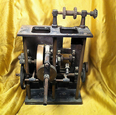 Antico Proiettore Pathe Freres Paris 35Mm Hand Crank