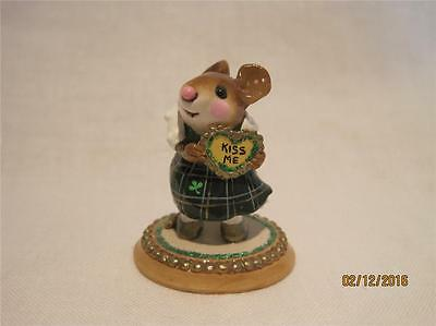 Wee Forest Folk M-080b I'm Yours St. Patrick's Day Ltd Edition - New in Wff Box