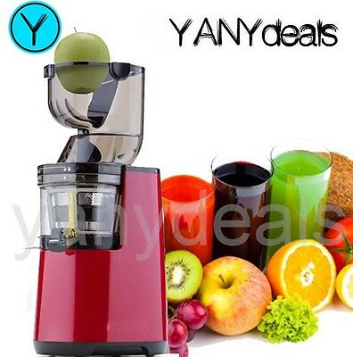 SLOW JUICER PRO Wide-Mouth WHOLE MACHINE 200W 65RPM MASTICATING COLD PRESS