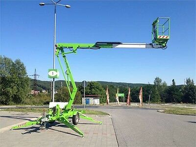 Cherry Picker Hire Norfolk Nifty Lift 120