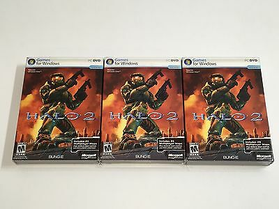 ➨☆➨☆➨☆ Microsoft Halo 2 FOR PC U28-00002  English ➨☆NEW SEALED➨☆➨☆➨☆➨☆