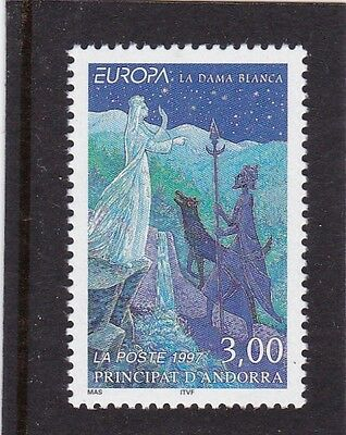 Andorra French #479 Mnh Europa Cept 1997 (Stories & Legends)