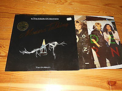 Modern Talking - In The Middle Of Nowhere (4Th) / Germany-Lp 1986 Mint- & Inlet