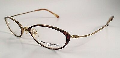 8caad471dd New Authentic DANA BUCHMAN RXable Eyeglasses Frames Huh Tortoise 47mm