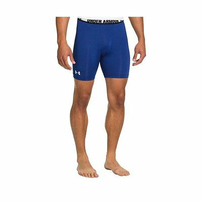 Under Armour Heatgear Sonic Compression Shorts  SMALL  Royal  NEW.