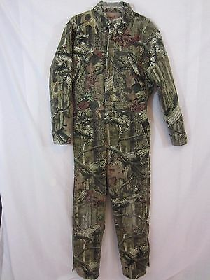 RedHead Silent Hide Insulated CAMO Hunting Work Jumpsuit Coveralls - Size Small