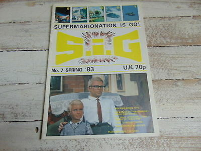 1983 Sig Supermarionation Is Go Gerry Anderson Thunderbird  Blueprint Space 1999