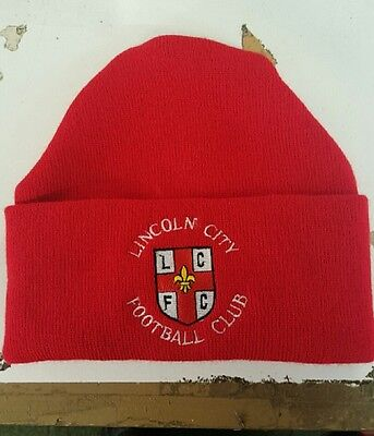 Lincoln City  Wooly Hat  NEW Beanie Hat The Imps
