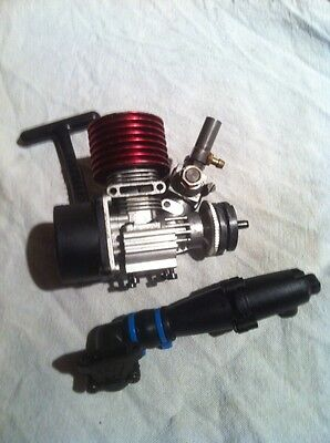 ACME NB16/ Nb16t 0.7 1/16 Nitro Engine With Pull Start And Exhaust